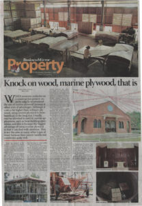 Business Mirror - Knock on wood, marine plywood, that is